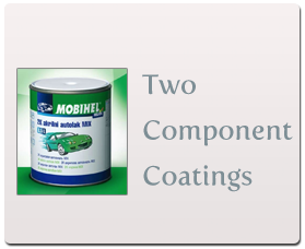 Two component coatings.